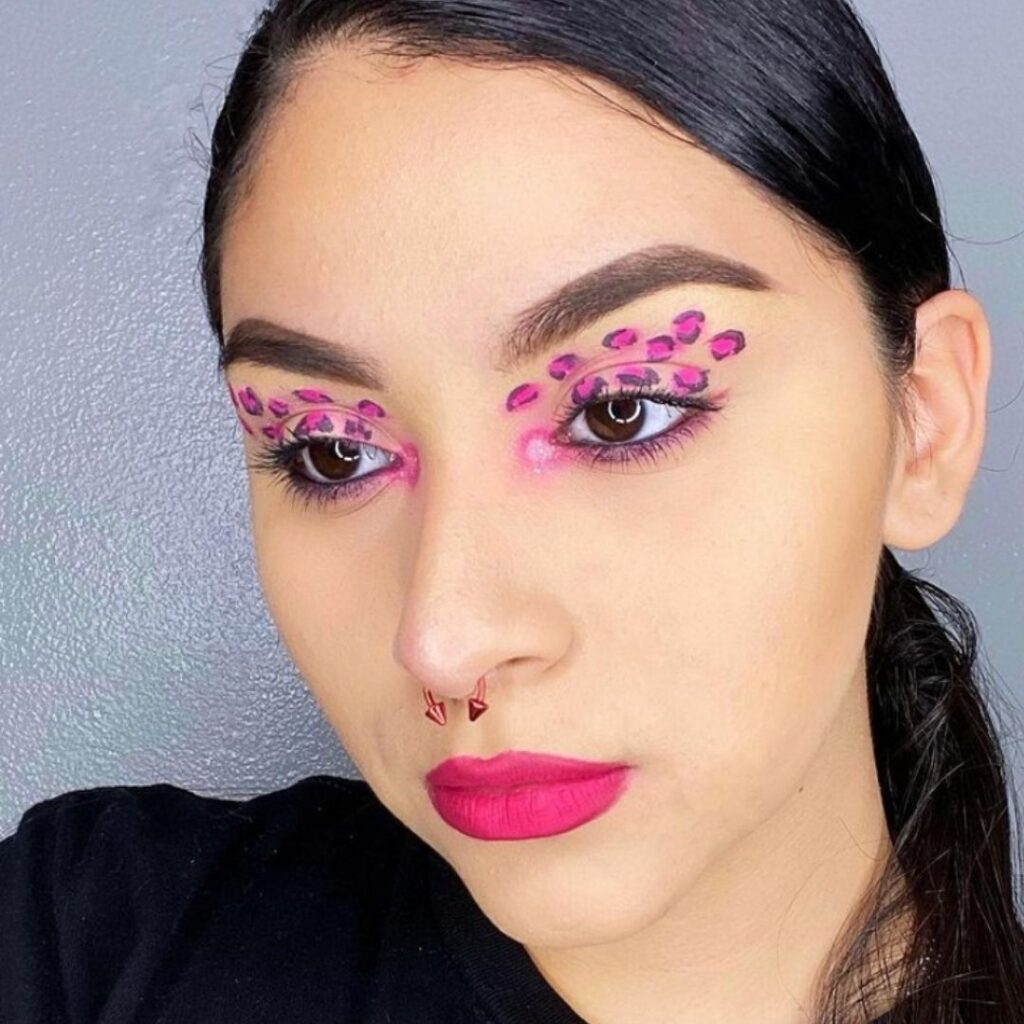 Maquiagem Rosa